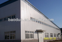 BDSS prefabricated light and fast install steel structure workshop
