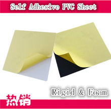 Cold press adhesive PVC album sheets , photo book insert PET sheet