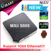 android smart tv box MXII S805 full hd media player recorder