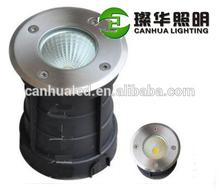 Contemporary cob 5w led garden underground light warm white, energy saving buried ground mounted round led cob inground lamp 5w