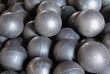 high strength grinding steel ball 120mm in diameter