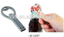 Bottle opener USB pendrive for promotion