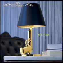 Flose MT-7048 modern stylish resin gun table lamp,art gun table lamp,European style gun table lamp