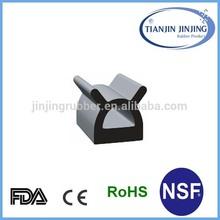 sliding door rubber seal strip/EPDM sliding door rubber seals with TS16949/sliding door rubber seals