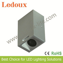 IP65 led wall light line light source fixed style 6063 t5 aluminum alloy double waterproof structure