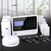 Intelligent digital security GSM alarm ! smart home automation system via relay output/Touch switch control light on/off