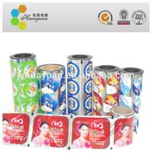 Jumbo rolls Aluminum Foil Lids for Yogurt cup