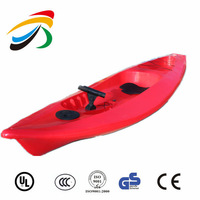 High quality cheap one person sit on top fishing kayak canoe