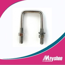 Design U Bolt With Nut Or Double Plate