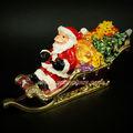 2014 natal elegante ofício bela santa claus jóias embalagens caixa de armazenamento de decoração de casamento( mh0001)