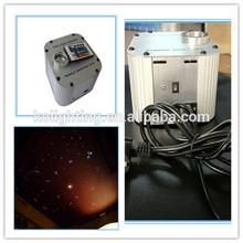 LED fiber optic lighting illuminator, high brightness,RGB mixing color , blink function
