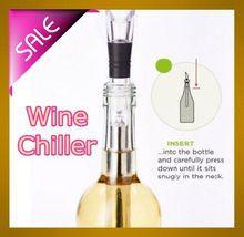2016 popular cheap wine chiller stick new shape wine bottle chiller