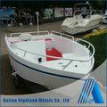Venda quente alumínio marine barco para a pesca, piloto, resgate