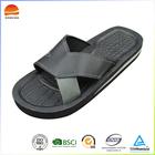 Soft men pu sandal and slipper