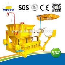 QMY6-25 high profit Mobile block machine product profit brick production line