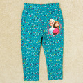 nuevo 13406 2014 caliente la venta de niñas de primavera y otoño de colores de algodón punto de dibujos animados forzen de impresión elástico de la cintura del pantalón largo