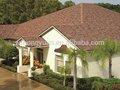 الألياف الزجاجية سقف القرميد الملونة شعبية/ الواح البيتومين