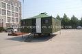 Fabricante de oro! Plegable camping remolque tienda al aire libre canvans camping remolque