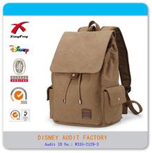 Fashion canvas bag backpack