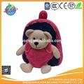 peluche orso scuola zaino per il bambino
