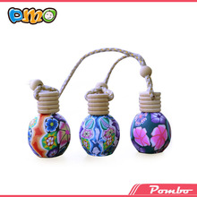 your design!!roller ball polymer clay spray perfume bottle