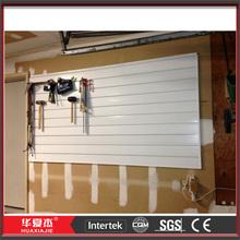 slat wall waterproof garage wall covering panels pvc garage panel