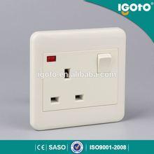 igoto ET8613-N plastic wall switch&socket