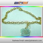 Fashion design souvenir keychain metal + good quality key chain with soft enamel
