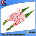 Barato plástico artificial orquídeas para decoração atacado