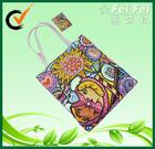 CMYK Full color printed Polyester Shopping Bag Foldable