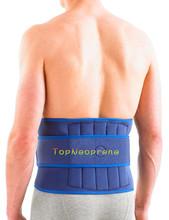 Adjustable neoprene lumbar back waist support brace belt
