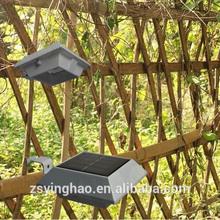 2014 most hot on Ebay retail solar fence lighting equipment YH0416-PIR