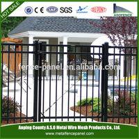 pvc coated decorative cheap wrought iron gates