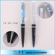 Customer design PVC plastic liquid pen with logo