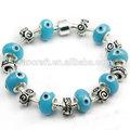 Ingrosso 2014 ragazze moda magnetico braccialetto della salute, affascinante rosario braccialetto perlina