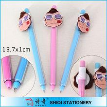 Korea plastic clip pen