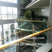 Best price for frameless glass balcony railing