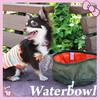 600D Polyester Pet Portable Traveling Bowl Foldable Feeder Dog Japanese Garden Water Bowl