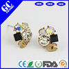 hot sale brand stud earrings made of crystal from GC factory