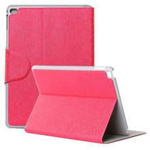 New arrival leather case for ipad 6 tablet case screen protector