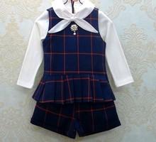 D62990T 2014 autumn new design european children's cotton pants set , two pieces