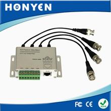 Sistema de CCTV 4 CH pasivo de vídeo transceptor HY-403M