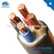 Power Cable, Flame Retartdant, Copper, XLPE/PVC Insulation, 4mm sq. x 4 core