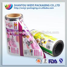 BOPP printed plastic film seed packing