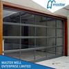 Aluminum glass panel garage door / Electric glass garage port