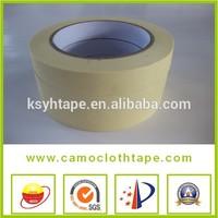 Good viscosity And Flexibility Heat Resist Masking Tape