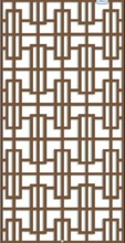 Kuwait laser cut decorative metal screens for architectural wall decoration