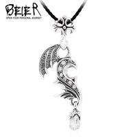 beier phoenix fashion pendant jewery 925 sterling silver man and woman couple pendant A1736