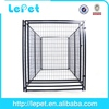 2014 hot selling welded wire mesh silver galvanized steel dog run