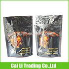 customed moisture proof ziplock tear notch tobacco pipe pouch
